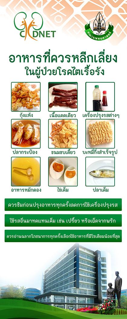 RU-อาหารที่ควรหลีกเลี่ย